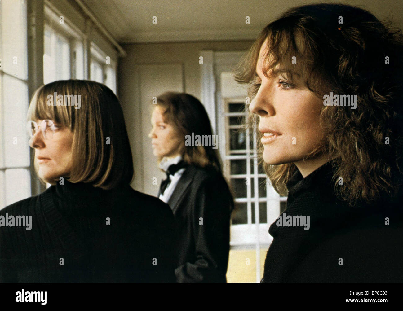 KRISTIN GRIFFITH MARY BETH HURT U0026 DIANE KEATON INTERIORS (1978)   Stock  Image