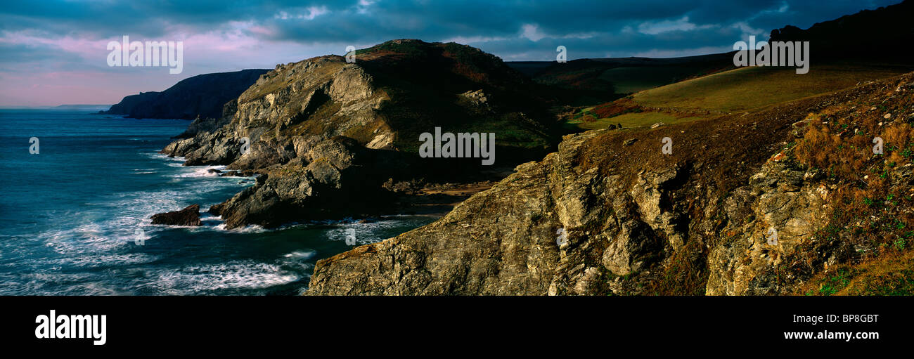 Soar mill cove, South Devon - Stock Image