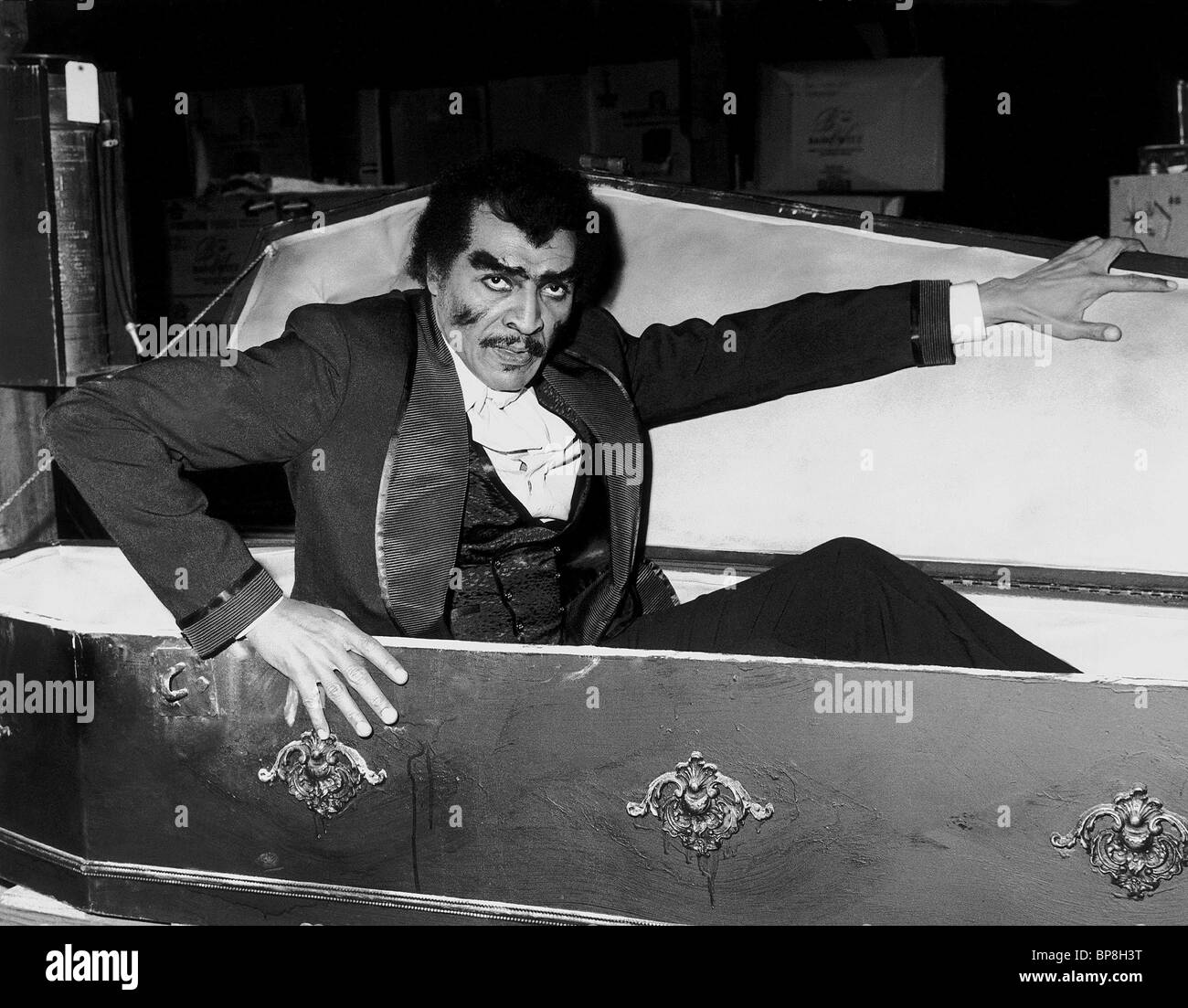 WILLIAM MARSHALL BLACULA (1972) - Stock Image