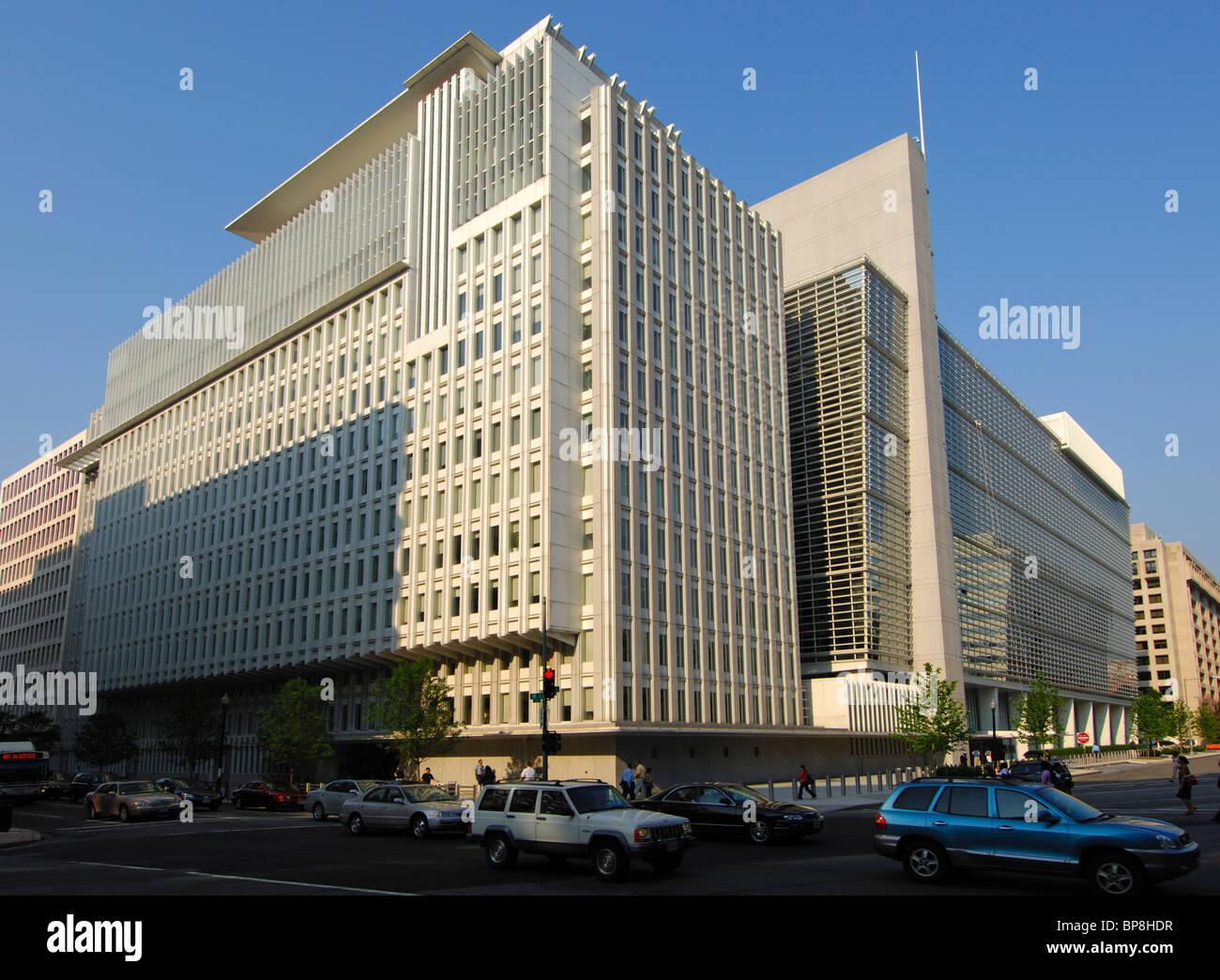 Headquarters of the International Bank for Reconstruction and Development (IBRD), World Bank, Washington, D.C., - Stock Image