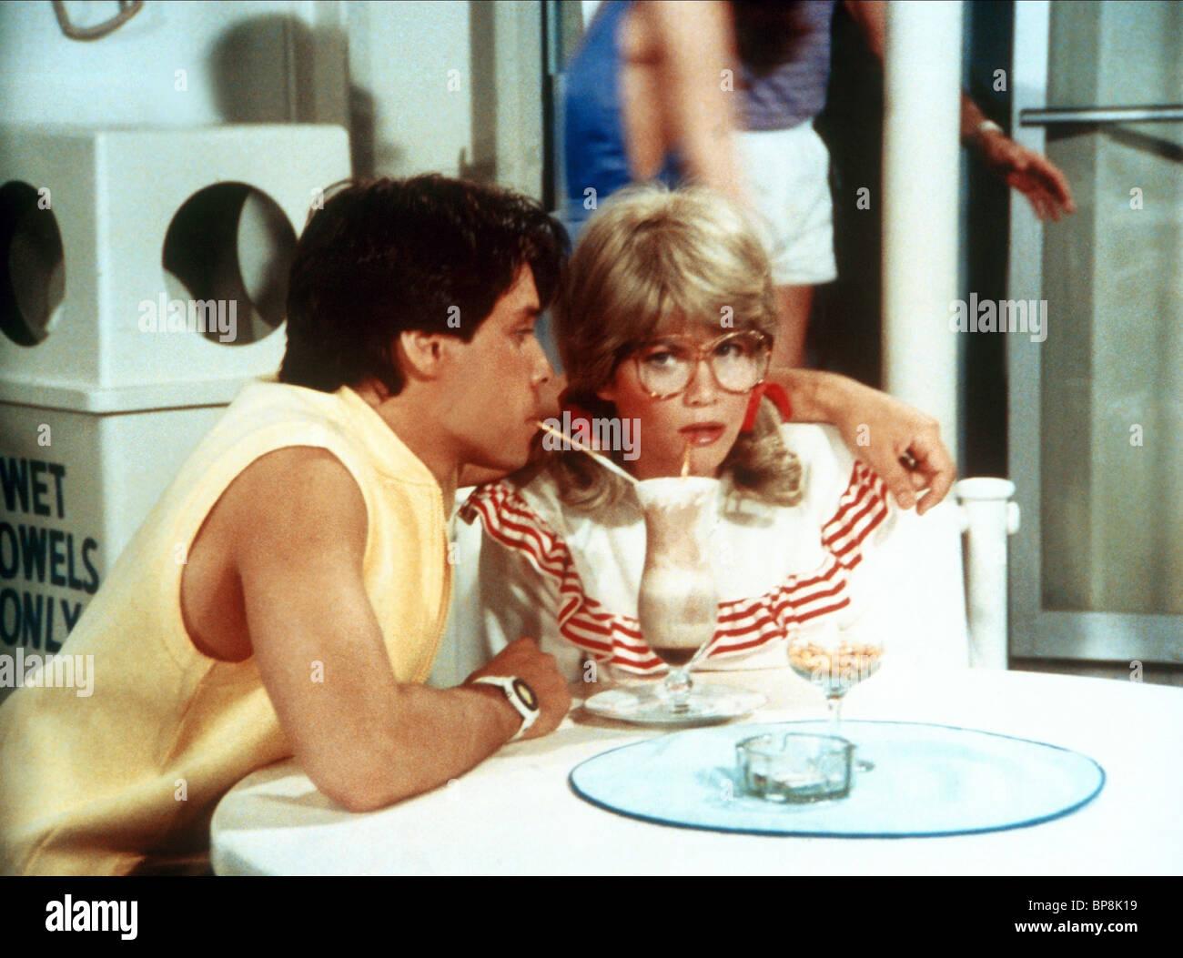 CLARK BRANDON, MARKIE POST, THE LOVE BOAT, 1977 - Stock Image