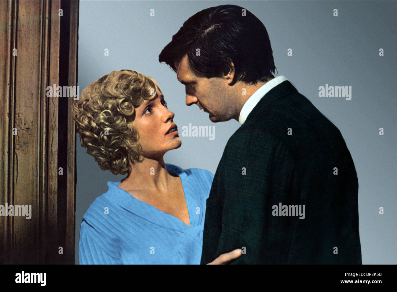 MELODIE JOHNSON, RICHARD WIDMARK, THE MOONSHINE WAR, 1970 - Stock Image