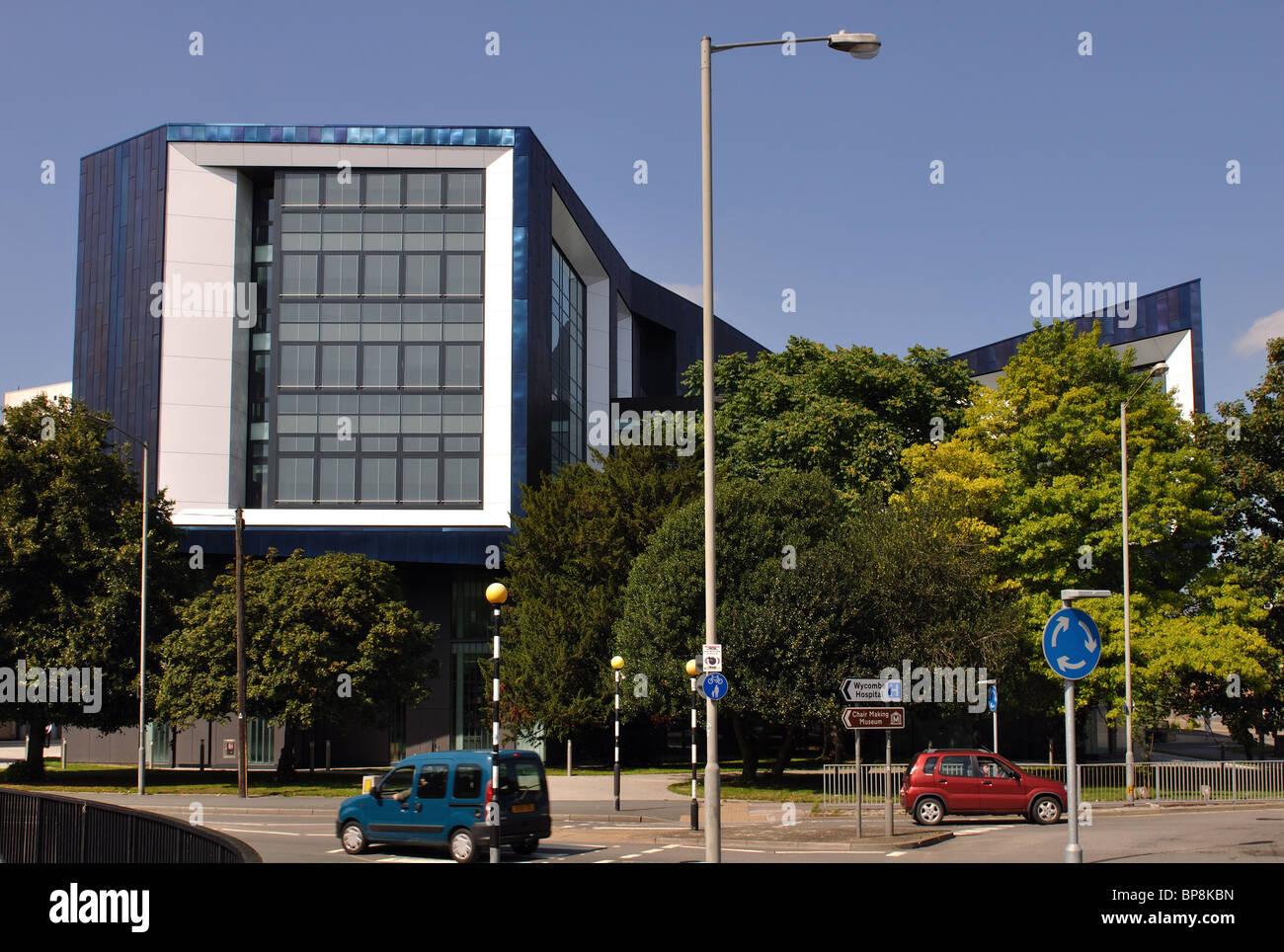 Bucks New University, High Wycombe, Buckinghamshire, England, UK - Stock Image