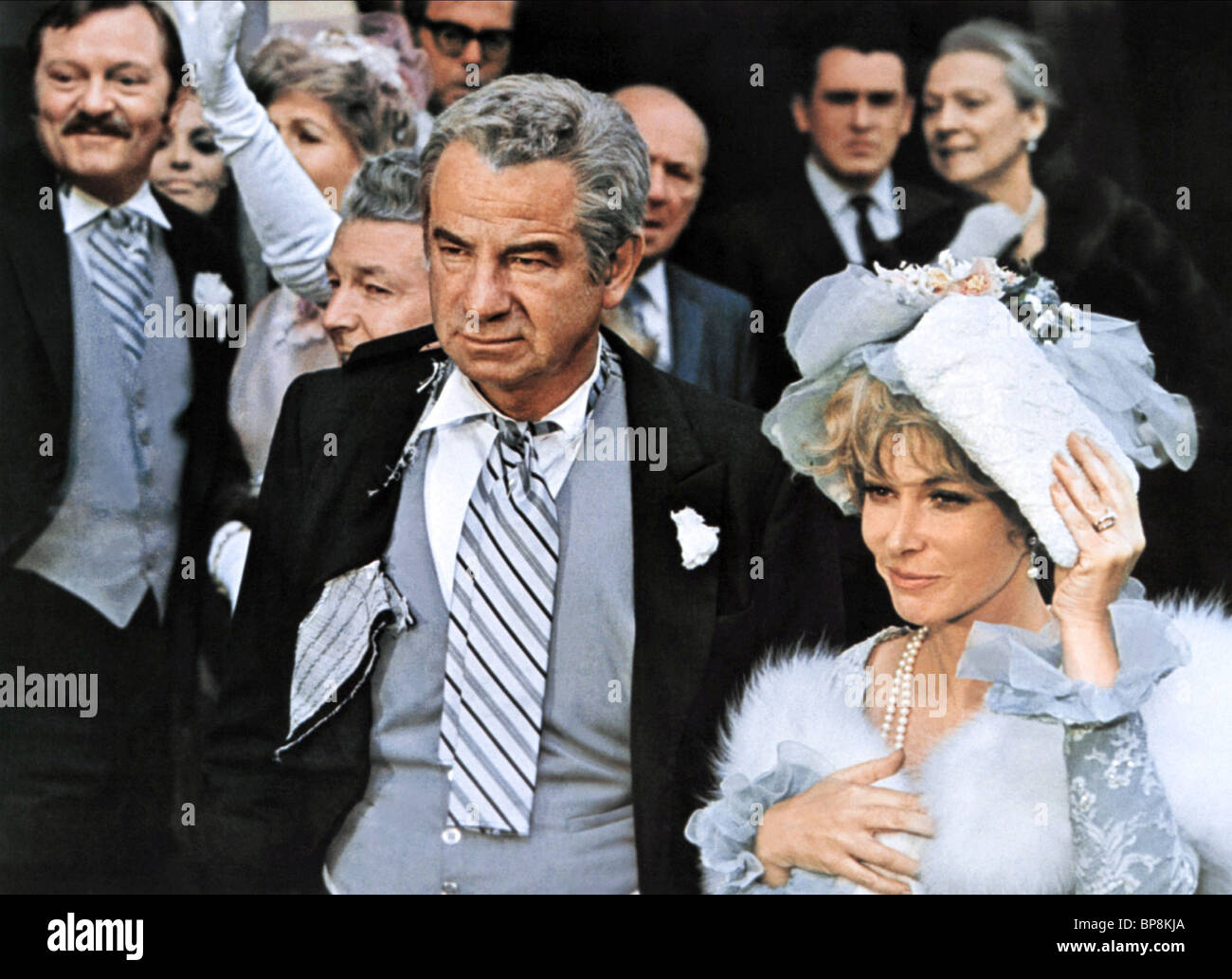 WALTER MATTHAU & BARBARA HARRIS PLAZA SUITE (1971) Stock Photo
