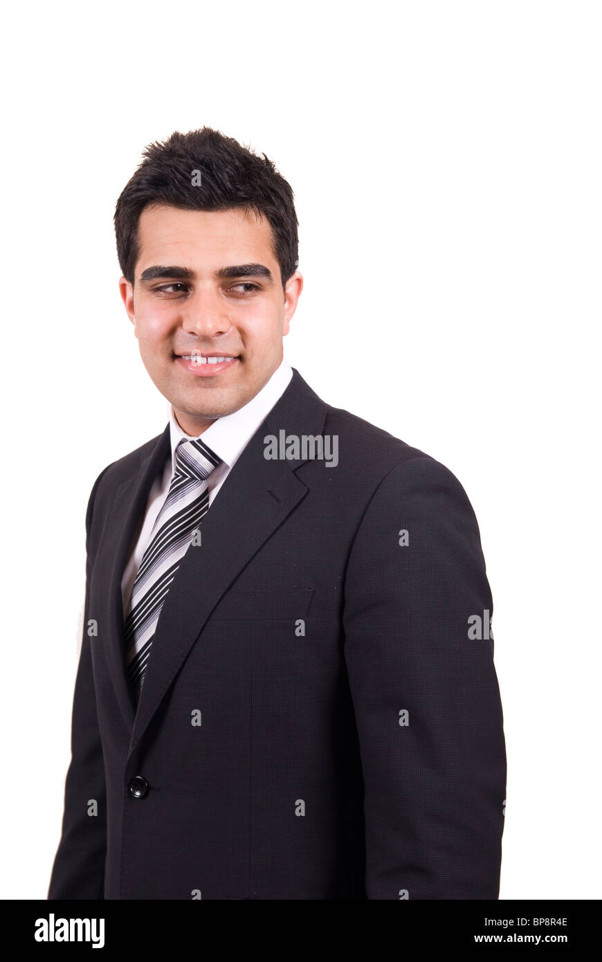 Business Man Studio Portrait Over Stock Photos Business Man Studio