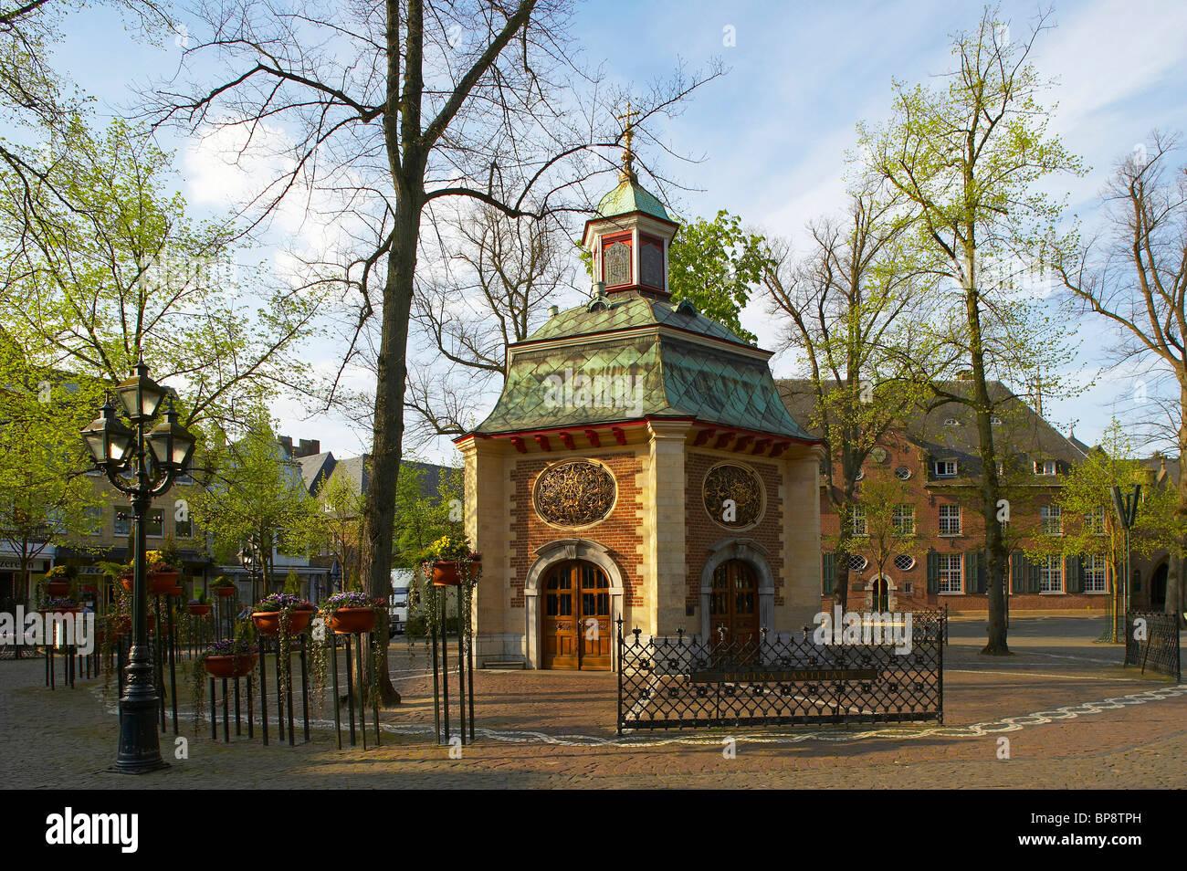 Gnadenkapelle Kevelaer, spring, Niederrhein, North Rhine-Westphalia, Germany, Europe - Stock Image