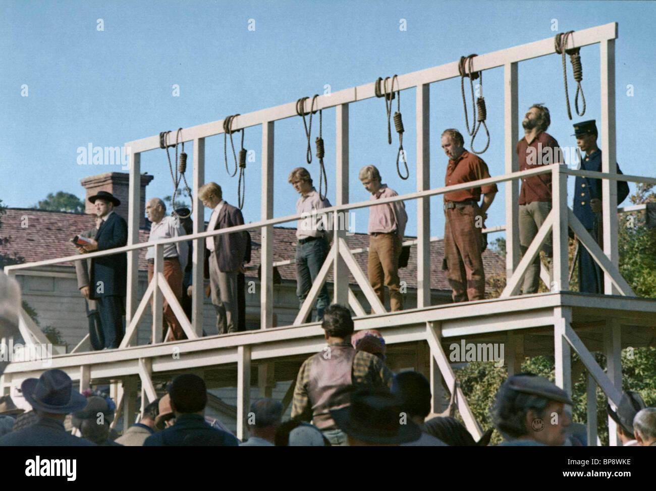 HANGING GALLOWS HANG 'EM HIGH (1968) - Stock Image