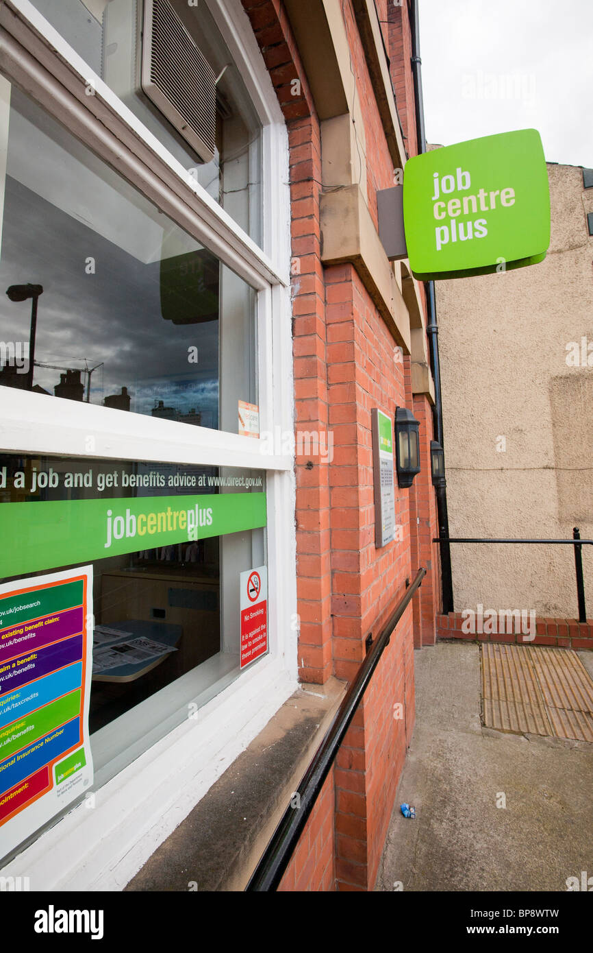 The Job centre in Clitheroe, Lancashire, UK. - Stock Image