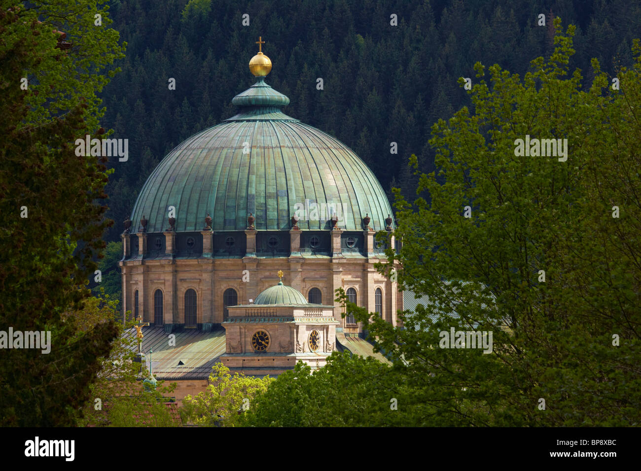 St. Blasien monastery, Cupola, On a spring's day, Black Forest, Baden-Wuerttemberg, Germany, Europe - Stock Image