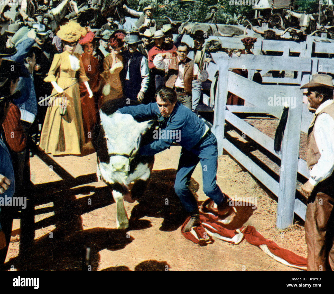 JAMES STEWART THE RARE BREED (1966) - Stock Image
