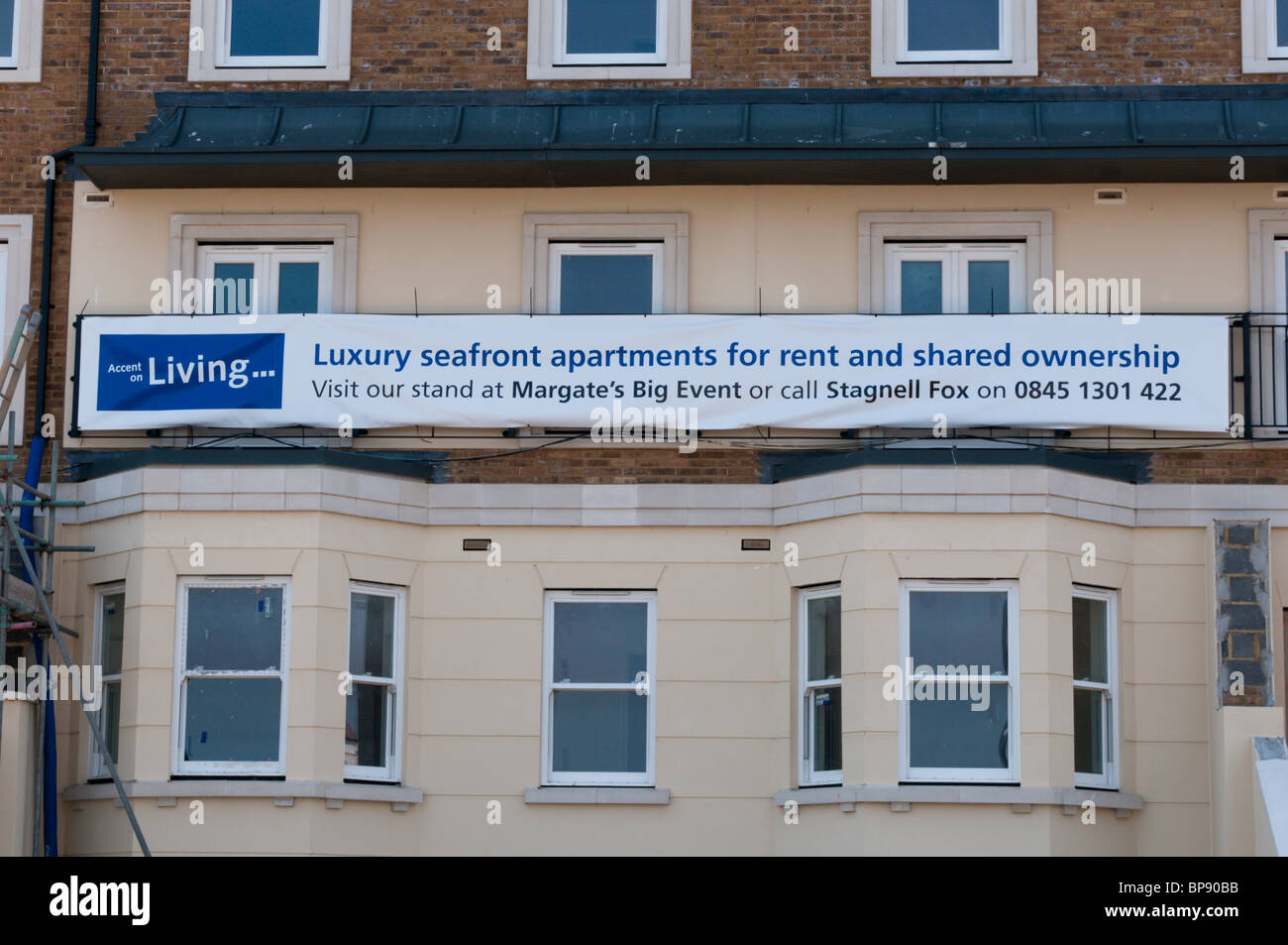 Apartments For Rent In Margate Kent England Stock Photo 30930687