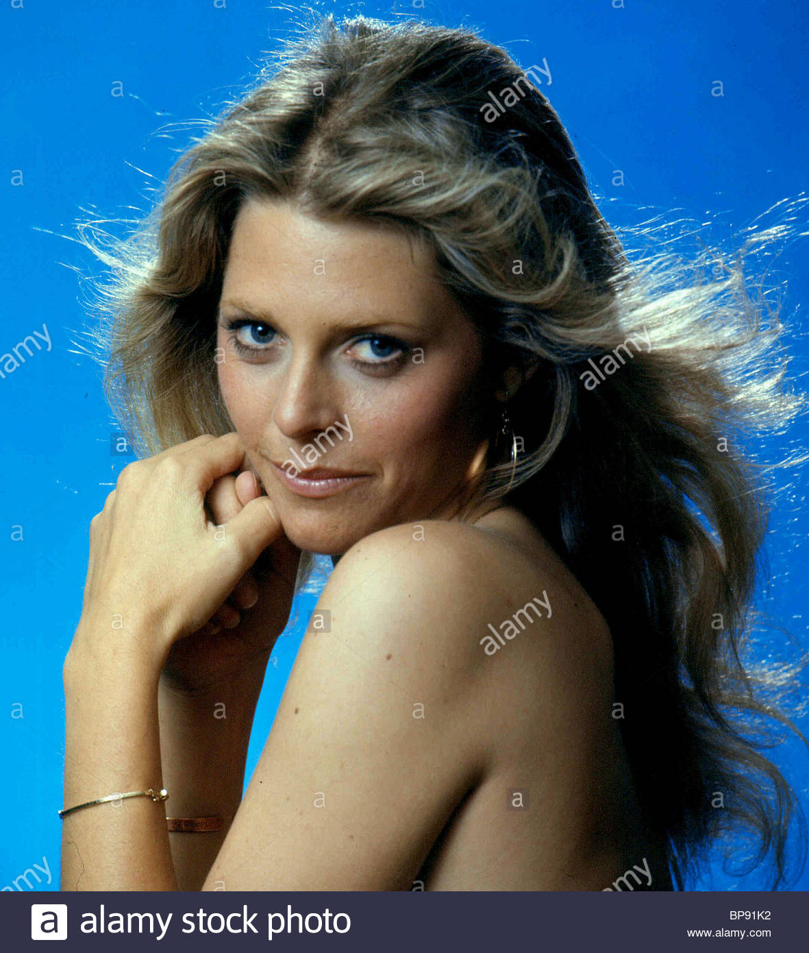 LINDSAY WAGNER THE BIONIC WOMAN (1976) - Stock Image