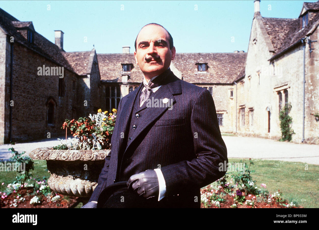 DAVID SUCHET POIROT (1973) - Stock Image