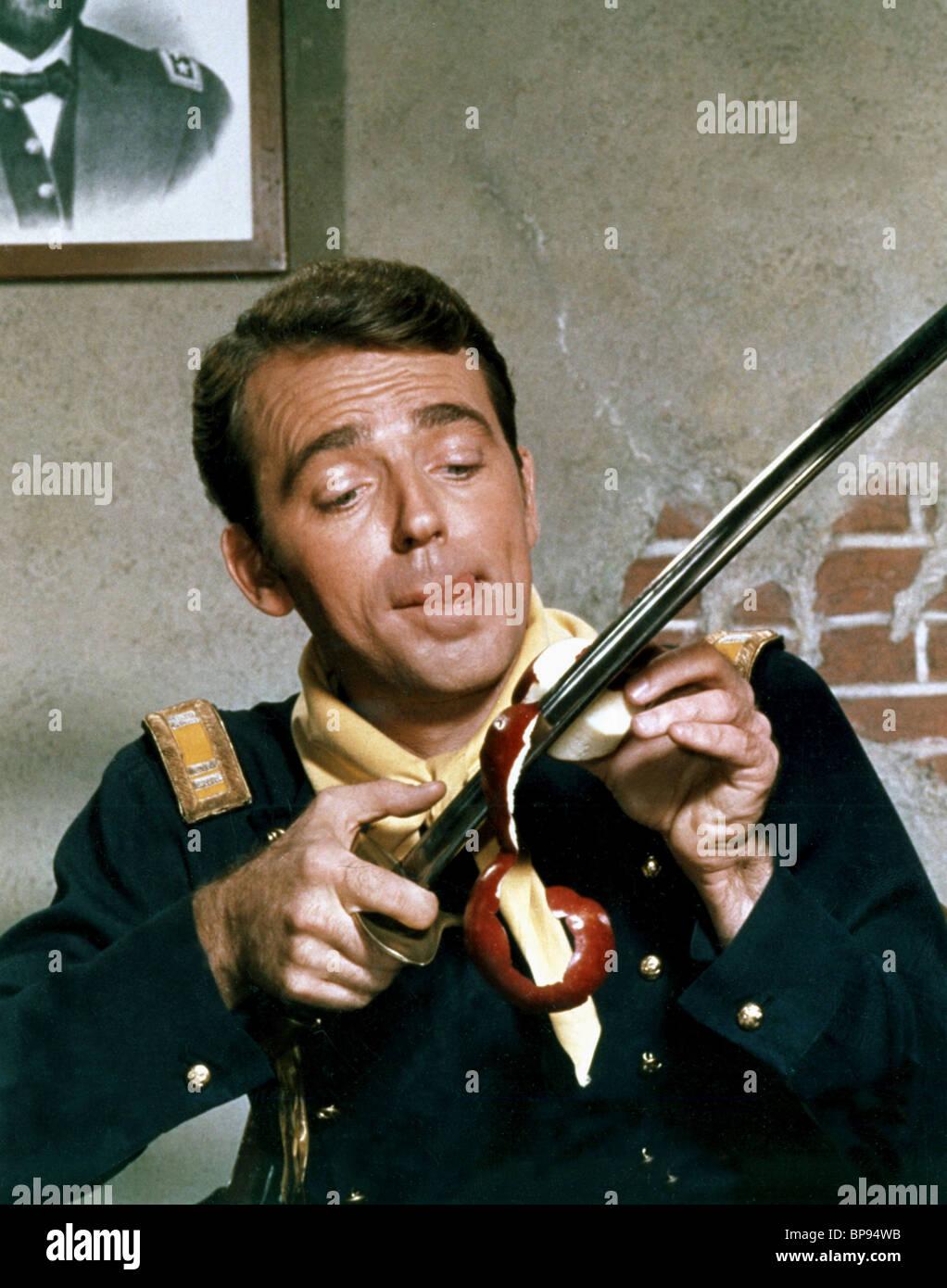 KEN BERRY F TROOP (1965) - Stock Image