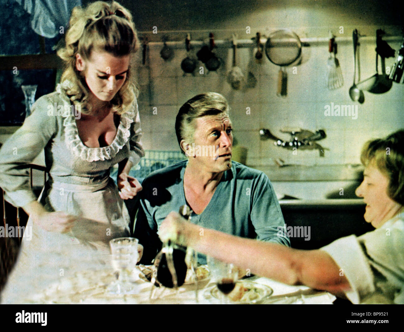 KIRK DOUGLAS SHARON FARRELL A LOVELY WAY TO DIE 1968
