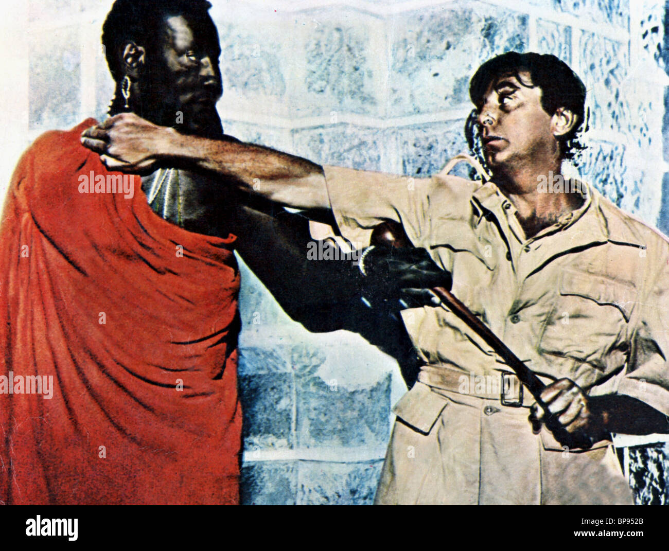 ROBERT MITCHUM MISTER MOSES (1965) Stock Photo