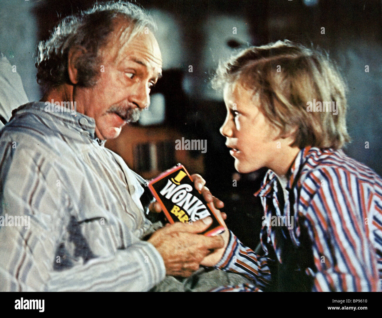 JACK ALBERTSON & PETER OSTRUM WILLY WONKA & THE CHOCOLATE ... Jack Albertson Willy Wonka