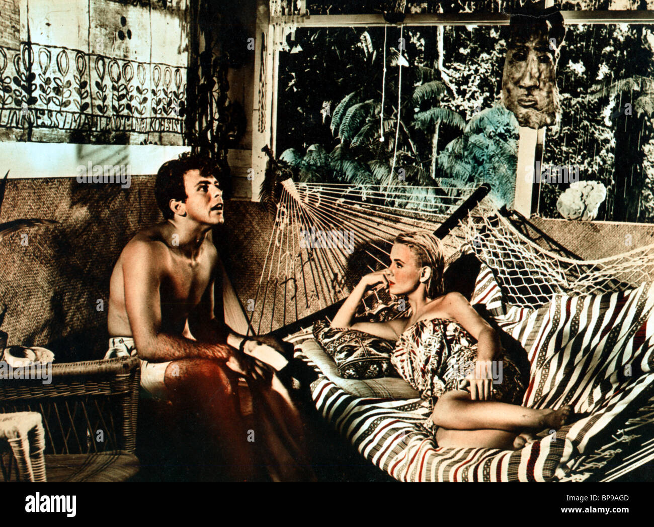 FABIAN, SHELLEY FABARES, RIDE THE WILD SURF, 1964 - Stock Image
