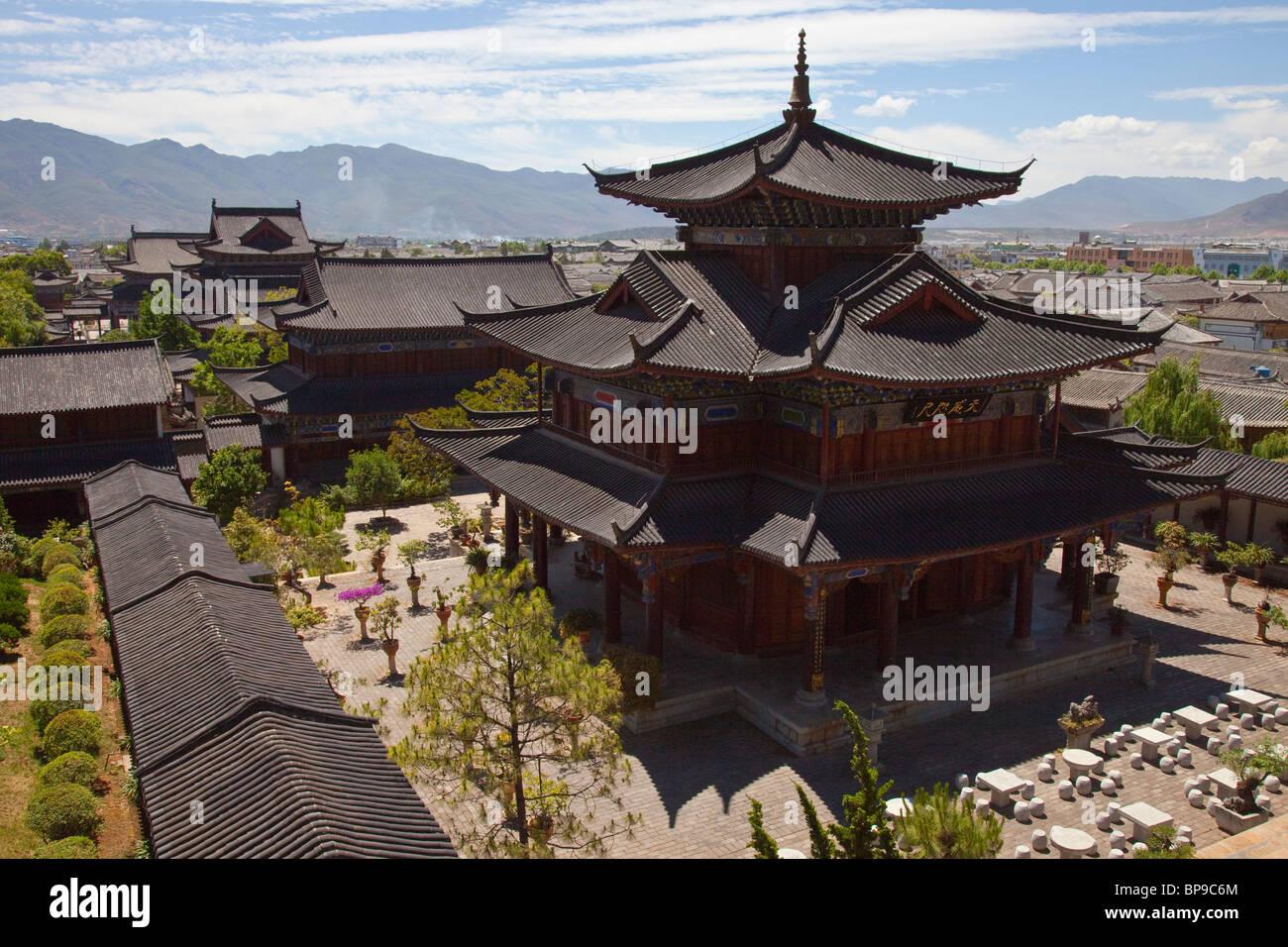 Mu Family Mansion, old town, Lijiang, Yunnan Province, China Stock Photo