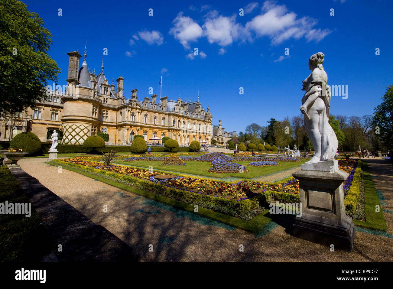 Waddesden Manor Buckinghamshire chateau stately home Rothschild - Stock Image