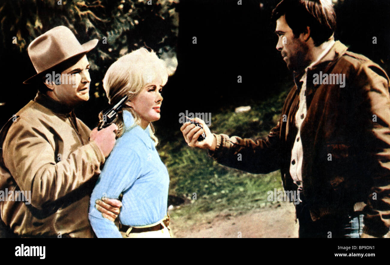 RALPH MEEKER LESLIE PARRISH & CHRISTOPHER GEORGE THE DEVIL'S 8 (1969) - Stock Image