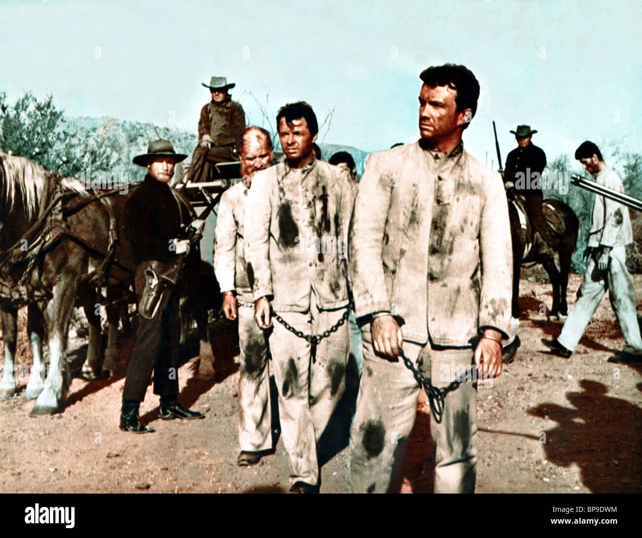 Audie Murphy Ben Cooper Arizona Raiders 1965 Stock Photo