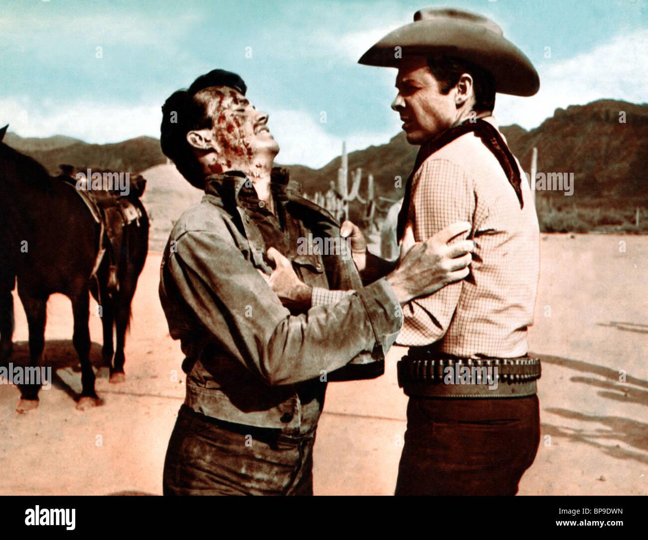 Ben Cooper Audie Murphy Arizona Raiders 1965 Stock Photo