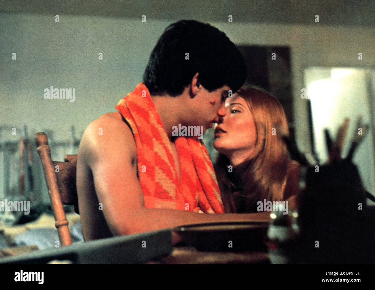 ROBBY BENSON, ANNETTE O'TOOLE, ONE ON ONE, 1977 Stock Photo