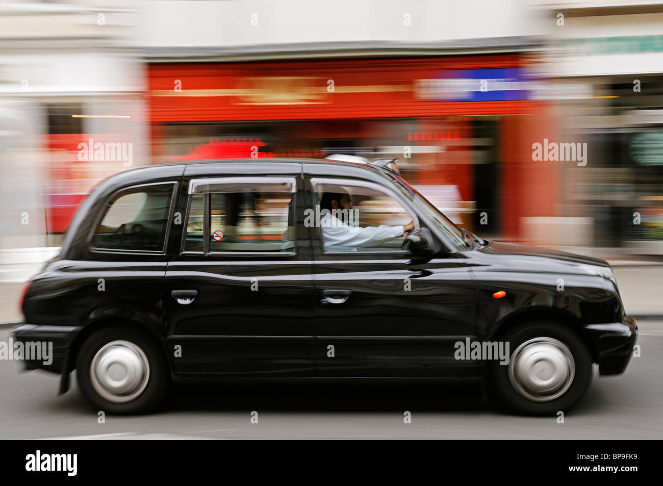 London Taxi - Stock Image