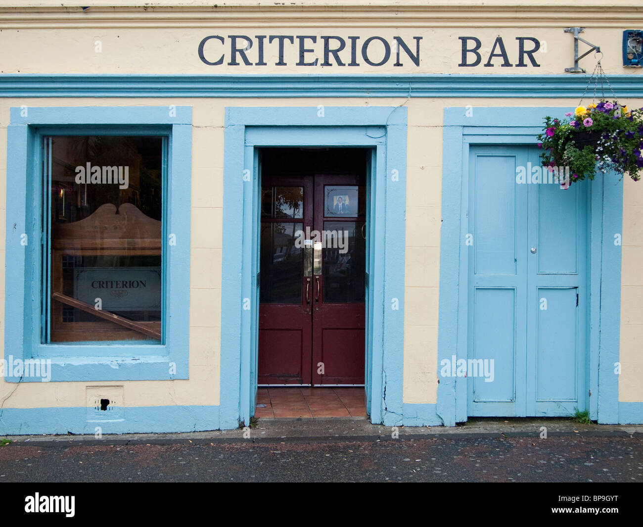 Criterion Bar, Stornoway, Isle of Lewis - Stock Image