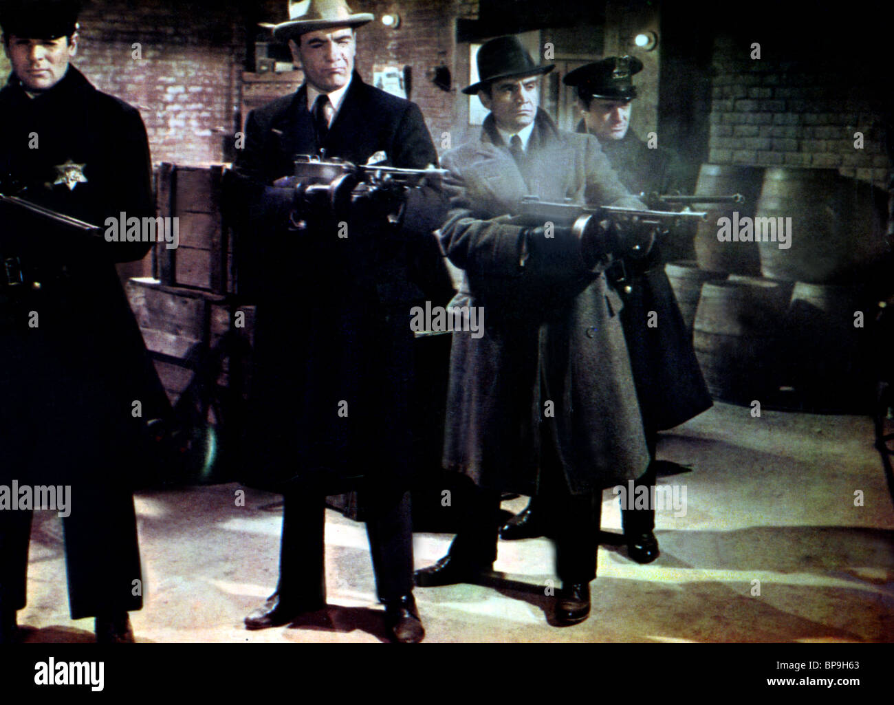 Movie Scene The St Valentine S Day Massacre 1967 Stock Photo