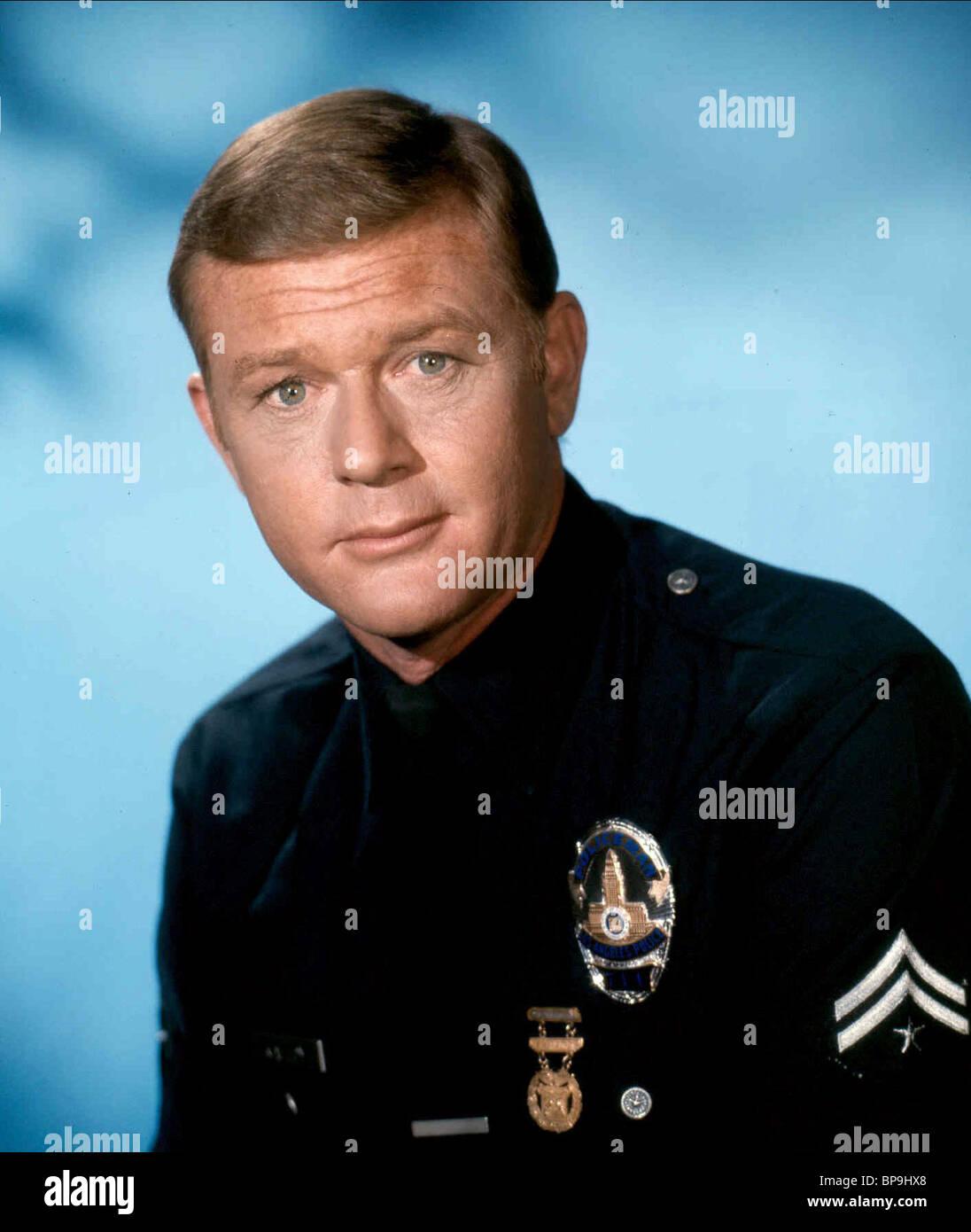 MARTIN MILNER ADAM-12 (1968) - Stock Image