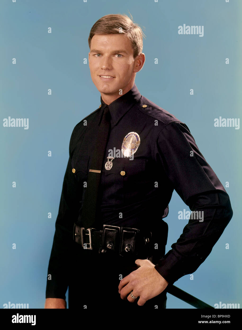 KENT MCCORD ADAM-12 (1968) - Stock Image