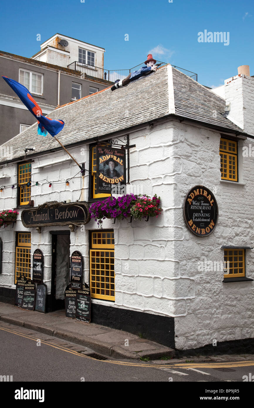 Admiral Benbow pub in Penzance - Stock Image