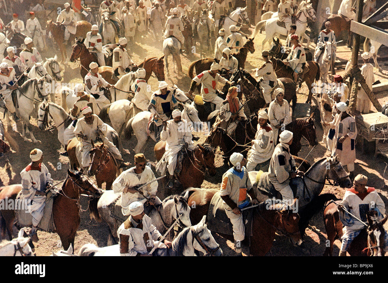 CAVALRY PREPARES FOR BATTLE KHARTOUM (1966) - Stock Image
