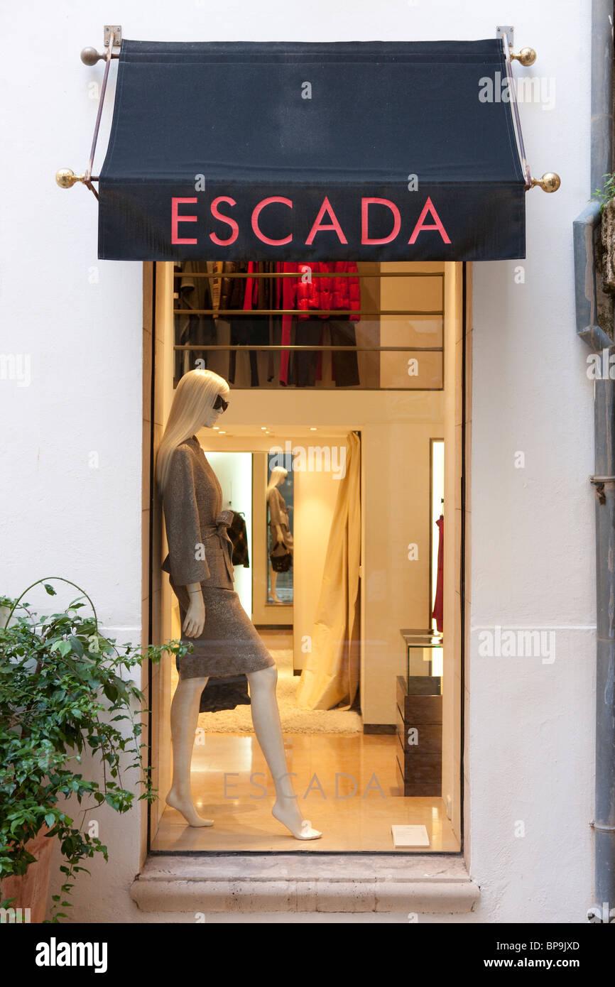Escada, Palma de Mallorca, Spain - Stock Image