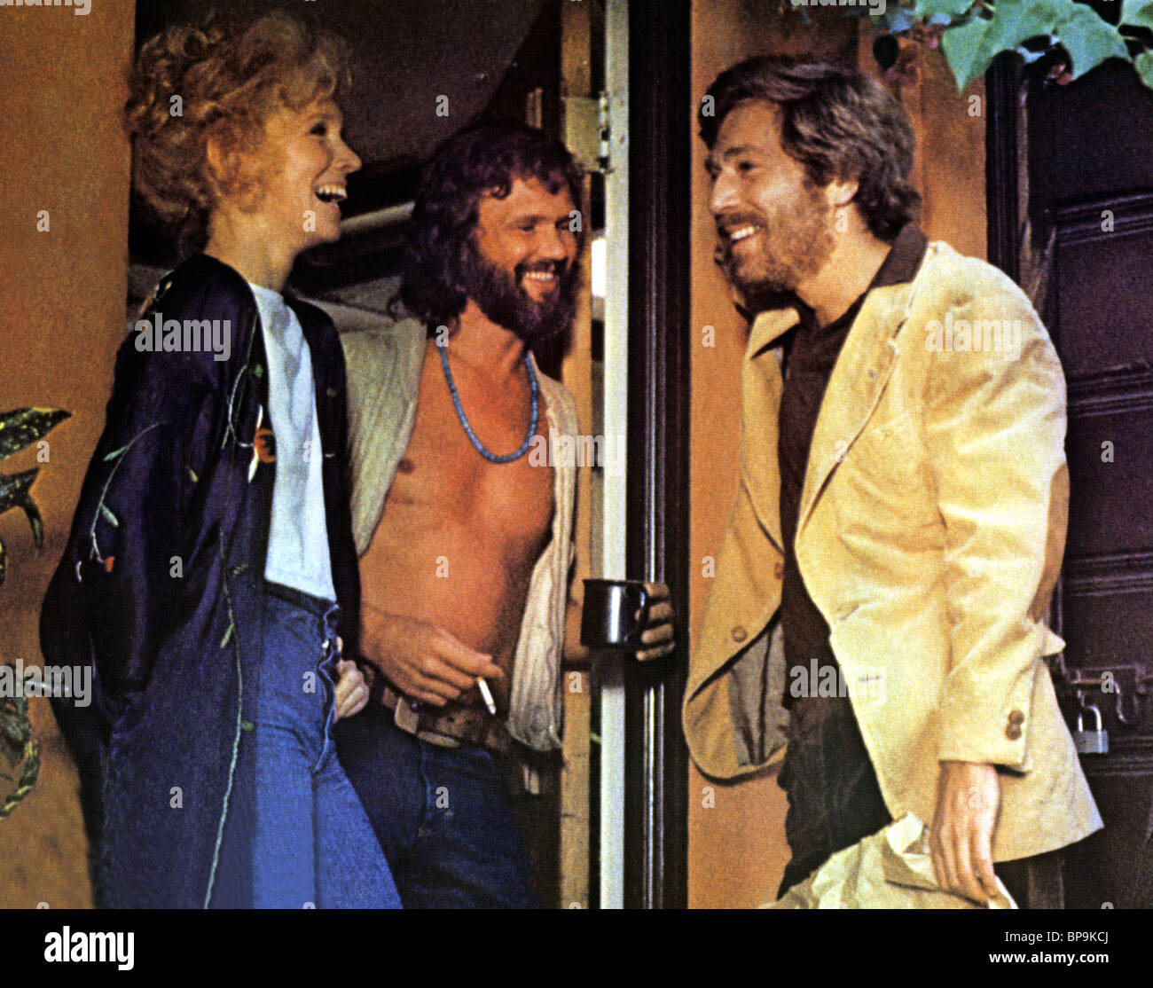 SUSAN ANSPACH, KRIS KRISTOFFERSON, GEORGE SEGAL, BLUME IN LOVE, 1973 - Stock Image