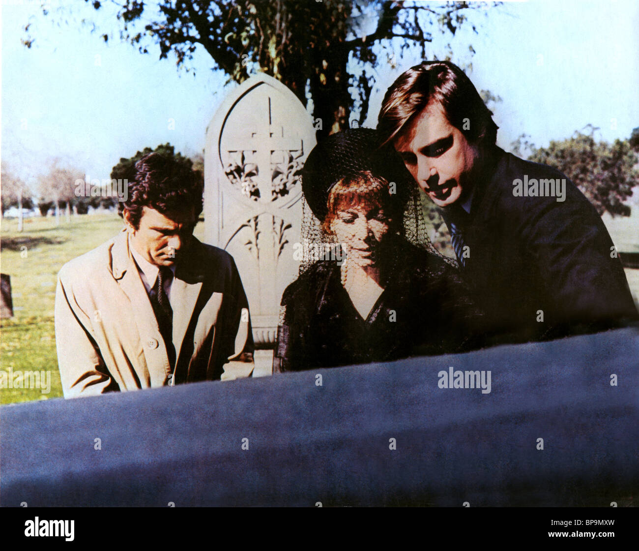 PETER FALK & LEE GRANT RANSOM FOR A DEAD MAN (1971) - Stock Image
