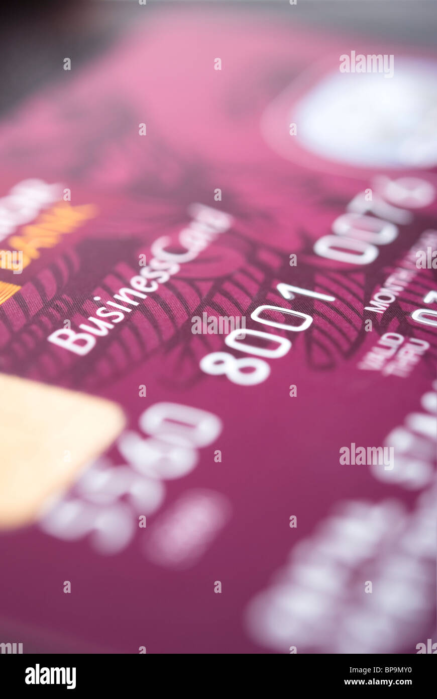Details of a business credit card with some numbers stock photo details of a business credit card with some numbers colourmoves