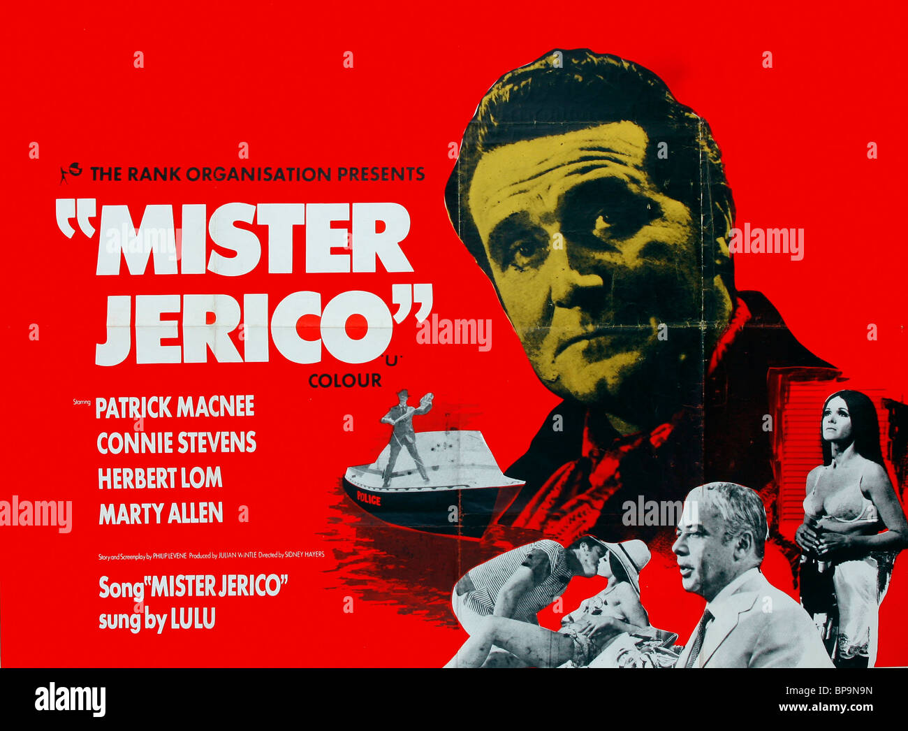 FILM POSTER MISTER JERICO (1970) - Stock Image