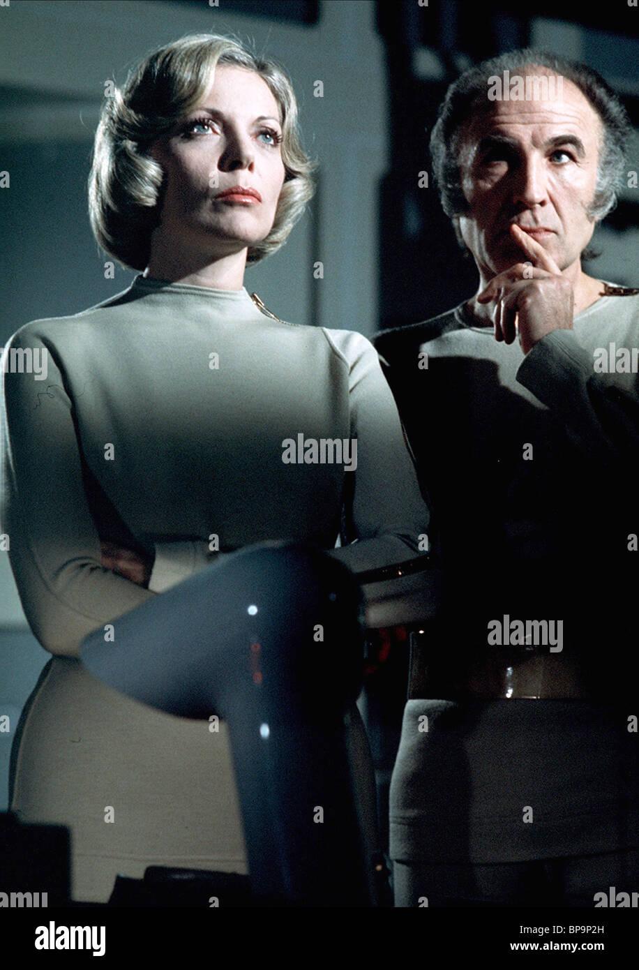 BARBARA BAIN, BARRY MORSE, SPACE 1999 , 1975 - Stock Image
