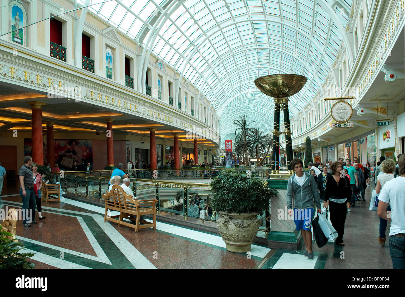 inside the Trafford centre, Manchester, England, UK - Stock Image