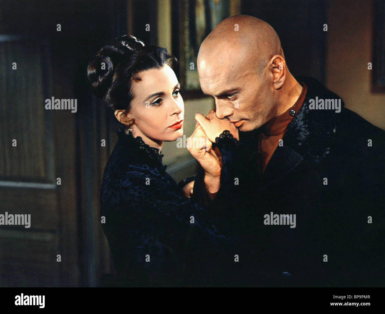 CLAIRE BLOOM, YUL BRYNNER, THE BROTHERS KARAMAZOV, 1958 - Stock Image
