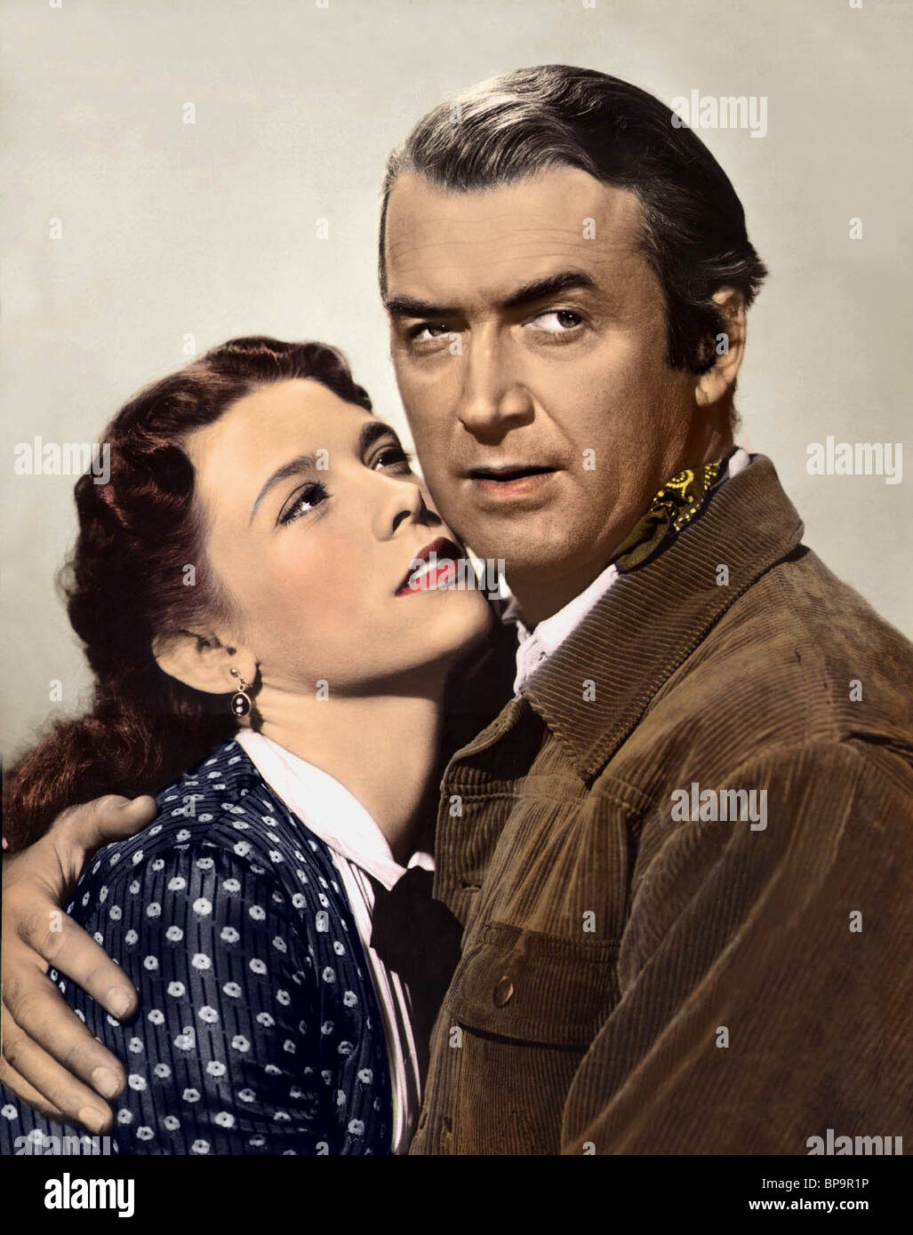 CATHY O'DONNELL, JAMES STEWART, THE MAN FROM LARAMIE, 1955 - Stock Image