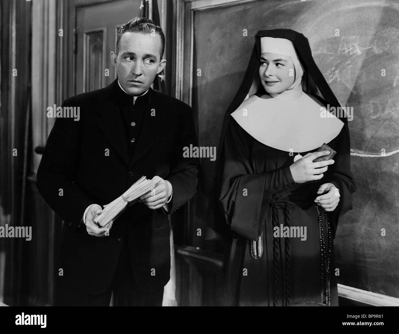 BING CROSBY, INGRID BERGMAN, THE BELLS OF ST. MARY'S, 1945 - Stock Image