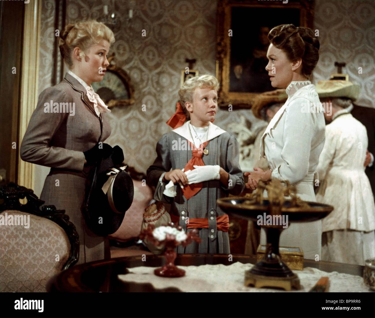 NANCY OLSON, HAYLEY MILLS, JANE WYMAN, POLLYANNA, 1960 - Stock Image