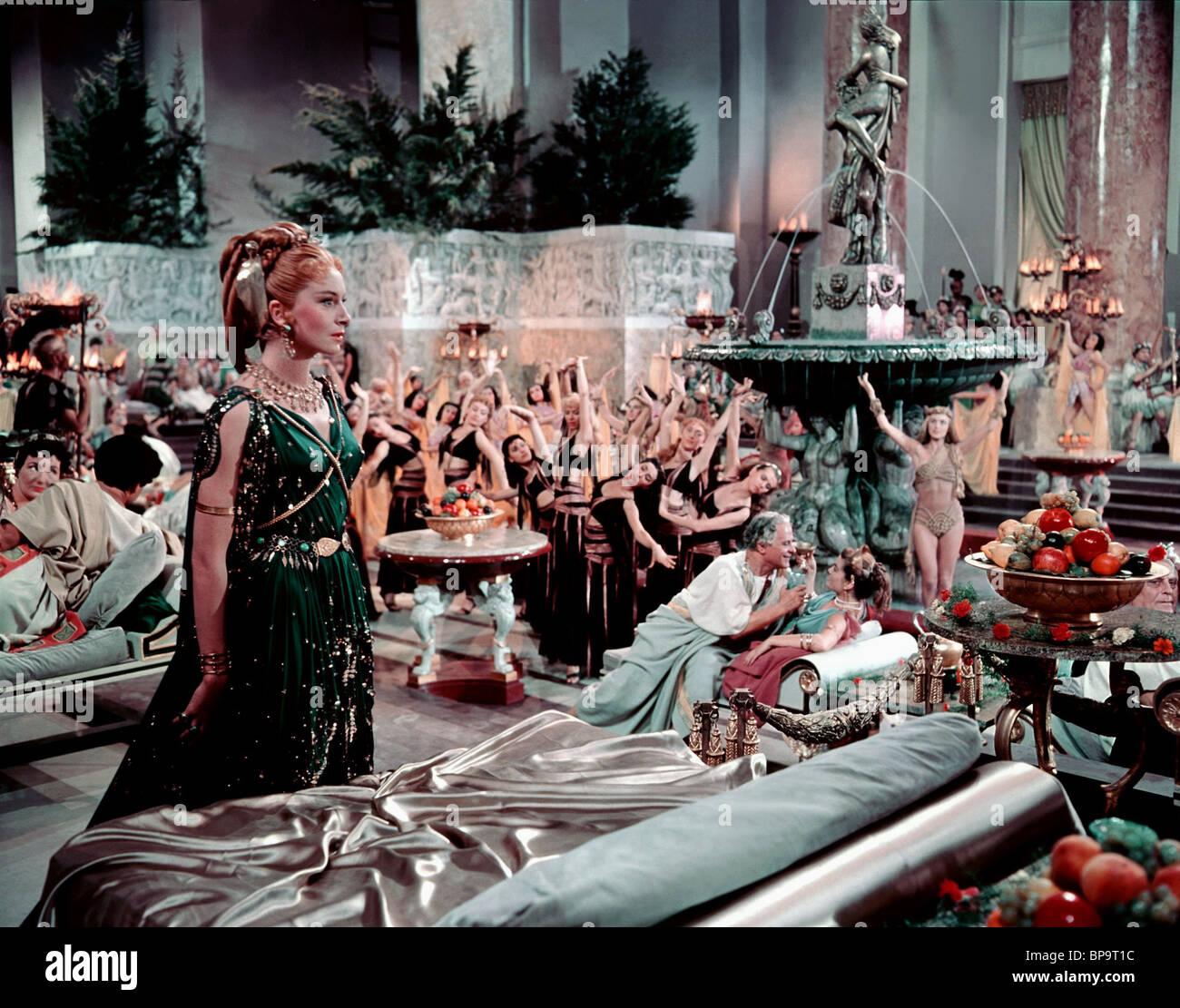 SCENE WITH DEBORAH KERR QUO VADIS (1951 Stock Photo ...