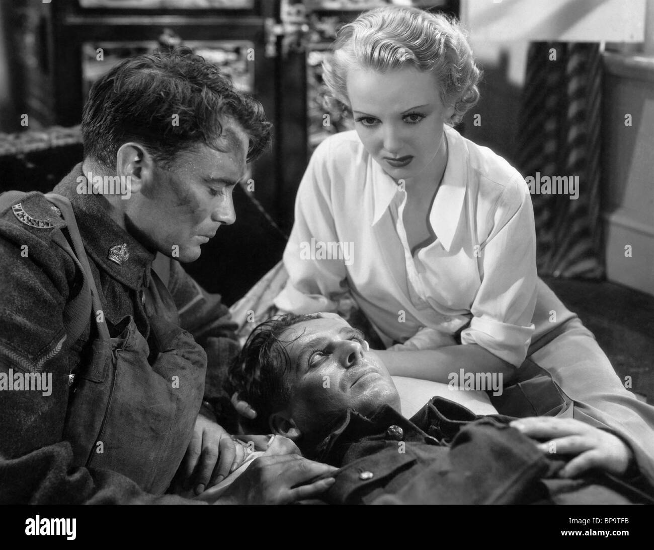 JOHN MILLS WALLACE FORD & ANNA LEE YOU'RE IN THE ARMY NOW; O.H.M.S. (1937) - Stock Image