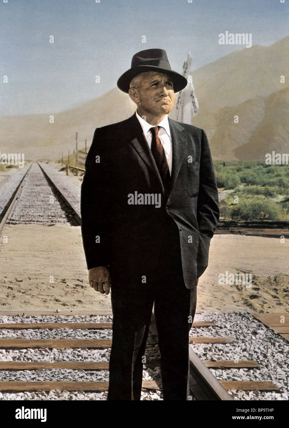 SPENCER TRACY A BAD DAY AT BLACK ROCK (1955 Stock Photo - Alamy
