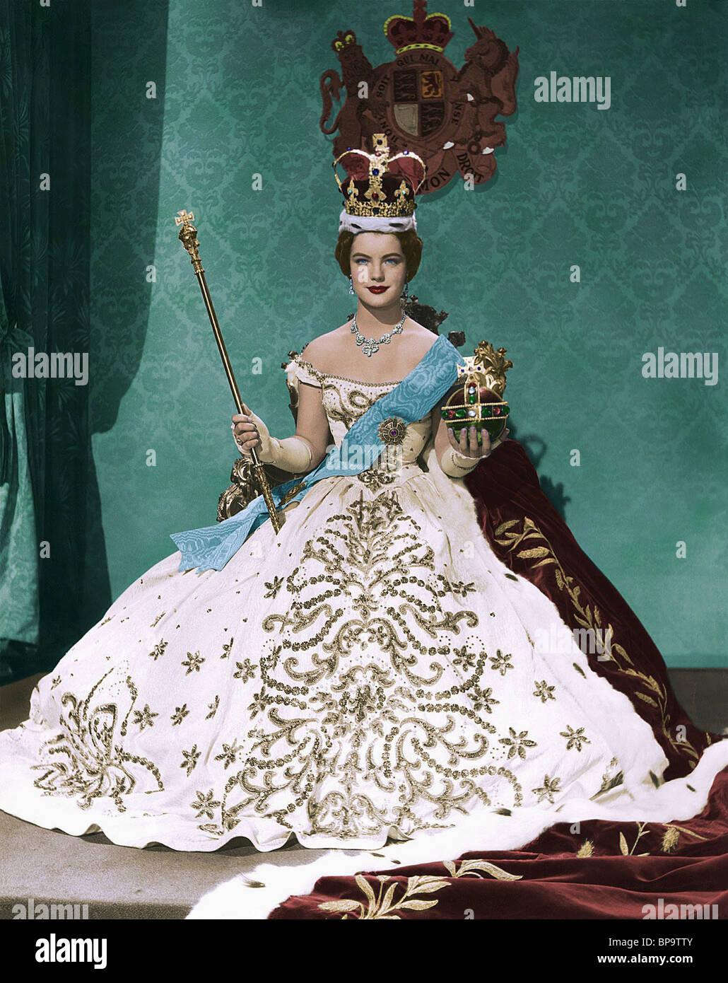ROMY SCHNEIDER SISSI: EMPRESS ELISABETH (1957) - Stock Image